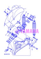 SWINGARM / SHOCK ABSORBER for Yamaha VP250 2013