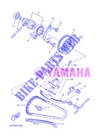 CAMSHAFT / TIMING CHAIN for Yamaha WR 125 R 2013