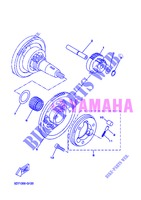 STARTER CLUTCH for Yamaha WR 125 R 2013