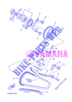 CAMSHAFT / TIMING CHAIN for Yamaha WR 125 X 2013
