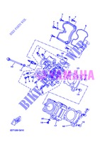 CYLINDER HEAD  for Yamaha WR 125 X 2013