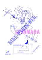 FRONT WHEEL for Yamaha WR 125 X 2013