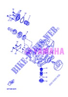 OIL PUMP for Yamaha WR 125 X 2013