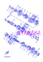 TRANSMISSION for Yamaha WR 125 X 2013