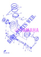 CRANKSHAFT / PISTON for Yamaha WR450F 2013