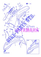 FENDER 1 for Yamaha WR450F 2013