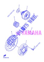 STARTER CLUTCH for Yamaha WR450F 2013