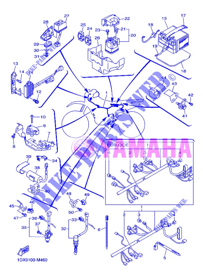 ELECTRICAL 2 for Yamaha WR450F 2013