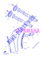 CAMSHAFT / TIMING CHAIN for Yamaha DIVERSION 600 F 2013