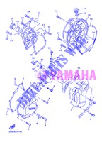 COVER   ENGINE 1 for Yamaha DIVERSION 600 F 2013