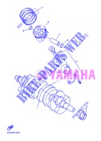 CRANKSHAFT / PISTON for Yamaha DIVERSION 600 F 2013