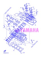 CYLINDER HEAD  for Yamaha DIVERSION 600 F 2013