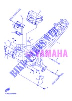 FRAME for Yamaha DIVERSION 600 F 2013