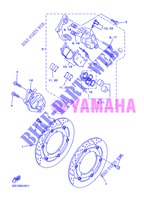 FRONT BRAKE CALIPER for Yamaha DIVERSION 600 F 2013