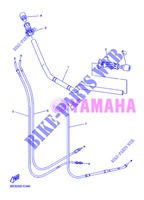 HANDLEBAR & CABLES for Yamaha DIVERSION 600 F 2013