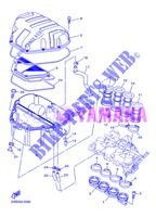 INTAKE for Yamaha DIVERSION 600 F 2013