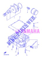 OIL FILTER for Yamaha DIVERSION 600 F 2013