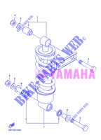 REAR SHOCK ABSORBER for Yamaha DIVERSION 600 F 2013