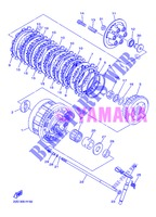 STARTER CLUTCH for Yamaha DIVERSION 600 F 2013