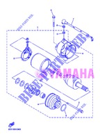 STARTER MOTOR for Yamaha DIVERSION 600 F 2013