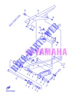 SWINGARM for Yamaha DIVERSION 600 F 2013