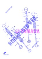 VALVE for Yamaha DIVERSION 600 F 2013