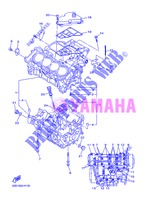 CRANKCASE for Yamaha DIVERSION 600 F 2013