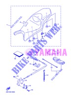 SEAT for Yamaha DIVERSION 600 F 2013