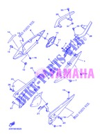 SIDE COVER for Yamaha DIVERSION 600 F 2013