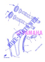 CAMSHAFT / TIMING CHAIN for Yamaha DIVERSION 600 F ABS 2013