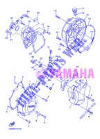 COVER   ENGINE 1 for Yamaha DIVERSION 600 F ABS 2013