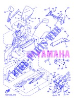 COVER 1 for Yamaha DIVERSION 600 F ABS 2013