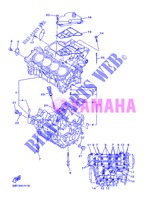 CRANKCASE for Yamaha DIVERSION 600 F ABS 2013