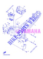 FRAME for Yamaha DIVERSION 600 F ABS 2013
