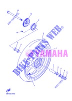 FRONT WHEEL for Yamaha DIVERSION 600 F ABS 2013