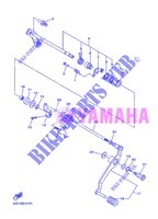 GEAR SHIFT SHAFT / LEVER for Yamaha DIVERSION 600 F ABS 2013