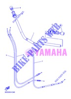 HANDLEBAR & CABLES for Yamaha DIVERSION 600 F ABS 2013