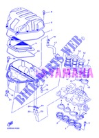 INTAKE for Yamaha DIVERSION 600 F ABS 2013