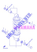 REAR SHOCK ABSORBER for Yamaha DIVERSION 600 F ABS 2013