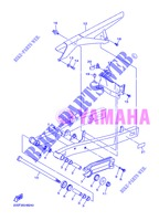 SWINGARM for Yamaha DIVERSION 600 F ABS 2013