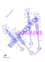 VALVE for Yamaha DIVERSION 600 F ABS 2013