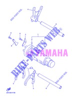 GEAR SHIFT SELECTOR DRUM / FORKS for Yamaha XJ6N 2013