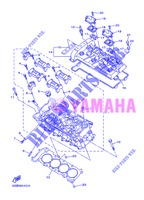 CYLINDER HEAD  for Yamaha XJ6N 2013