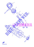 CRANKSHAFT / PISTON for Yamaha XJ6N 2013