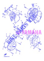 COVER   ENGINE 1 for Yamaha XJ6NA 2013