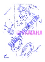 FRONT BRAKE CALIPER for Yamaha XJ6NA 2013