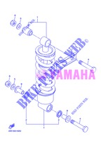 REAR SHOCK ABSORBER for Yamaha XJ6NA 2013