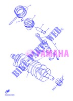 CRANKSHAFT / PISTON for Yamaha XJ6NA 2013