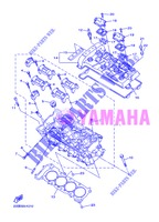 CYLINDER HEAD  for Yamaha XJ6NA 2013