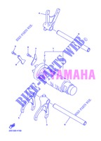 GEAR SHIFT SELECTOR DRUM / FORKS for Yamaha XJ6NA 2013